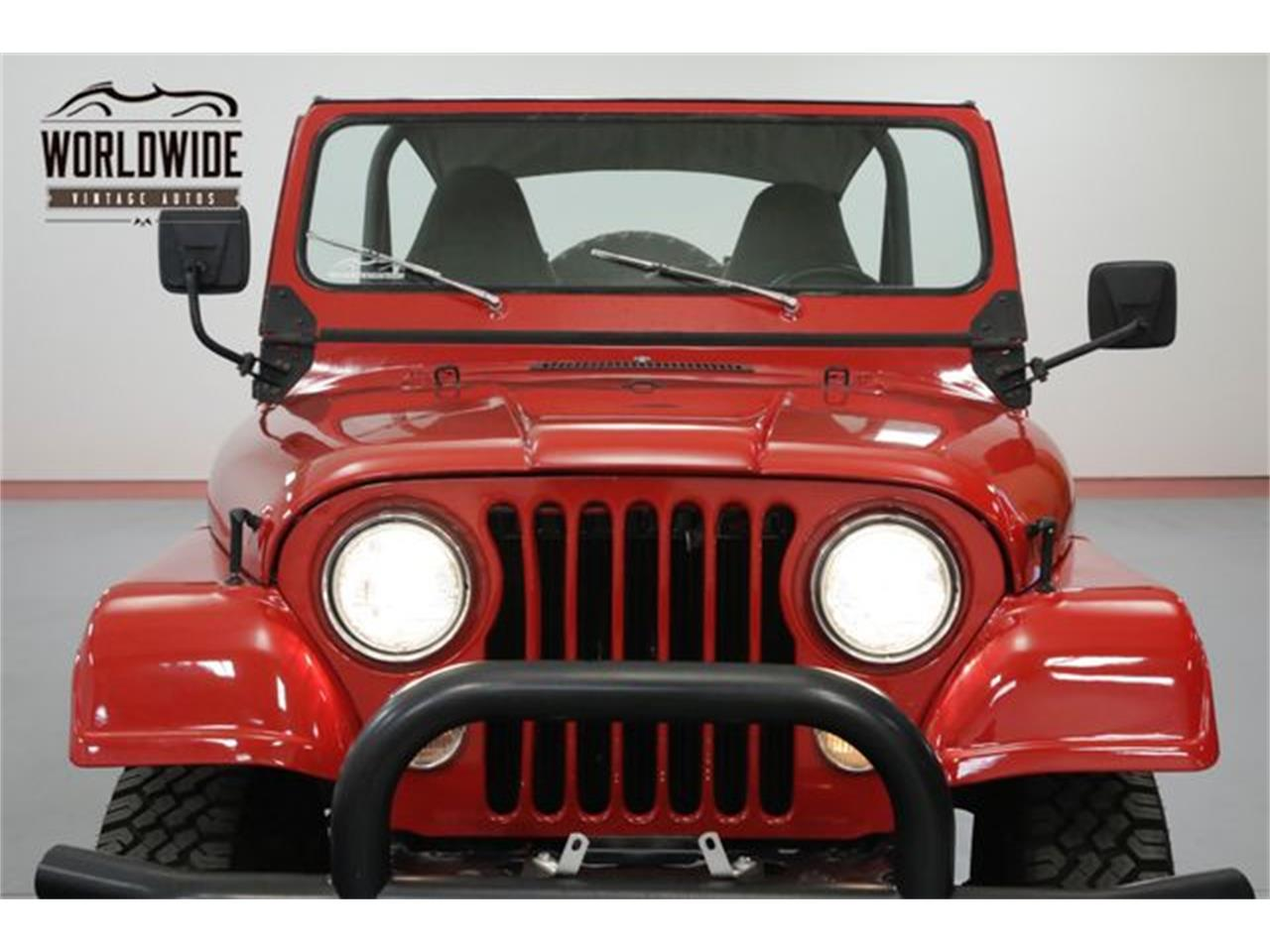 Large Picture of '79 Jeep CJ5 located in Colorado Offered by Worldwide Vintage Autos - OWHF