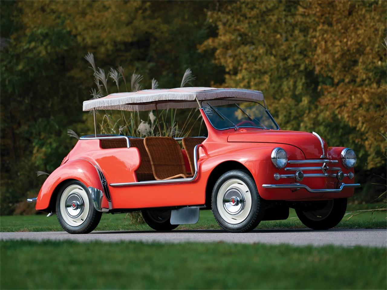 Large Picture of 1960 4CV Jolly Auction Vehicle Offered by RM Sotheby's - OXJ2