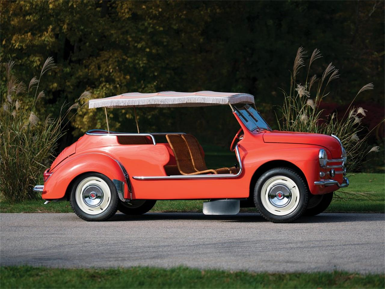 Large Picture of 1960 4CV Jolly located in Culver City California Auction Vehicle Offered by RM Sotheby's - OXJ2