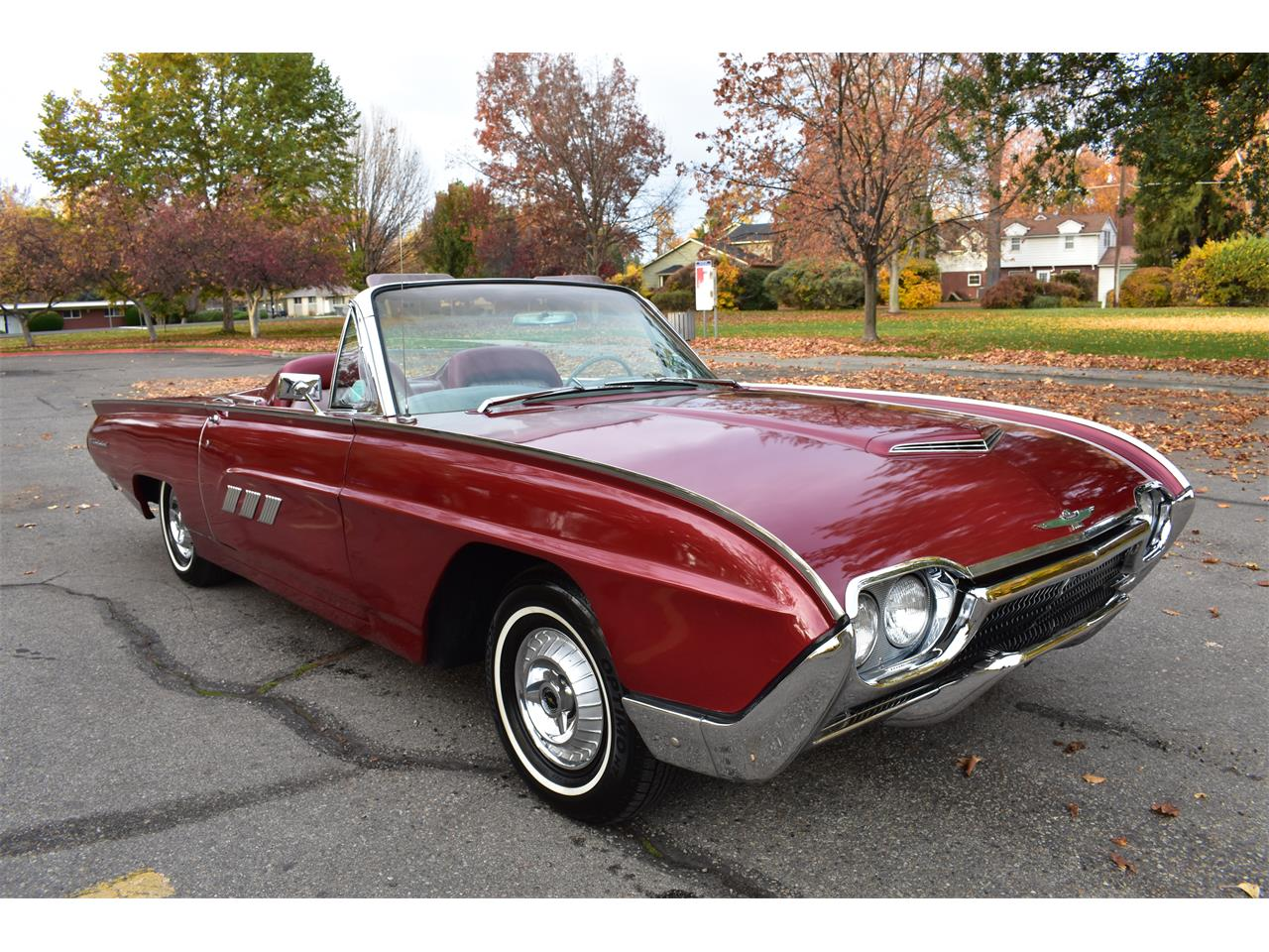 Large picture of classic 63 ford thunderbird 26900 00 offered by rosss valley auto sales