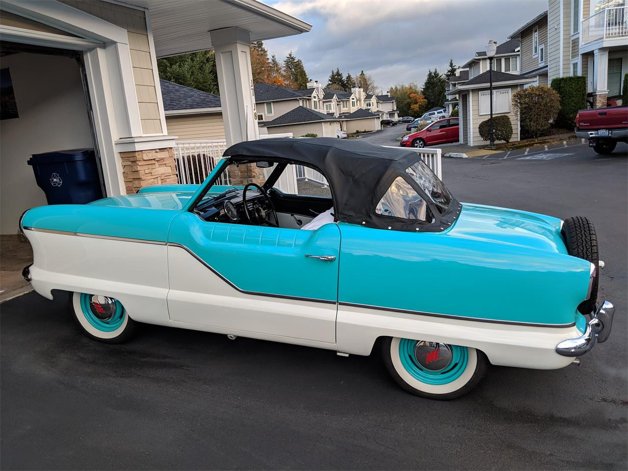 Large Picture of 1959 Nash Metropolitan located in Snohomish Washington - OXMD