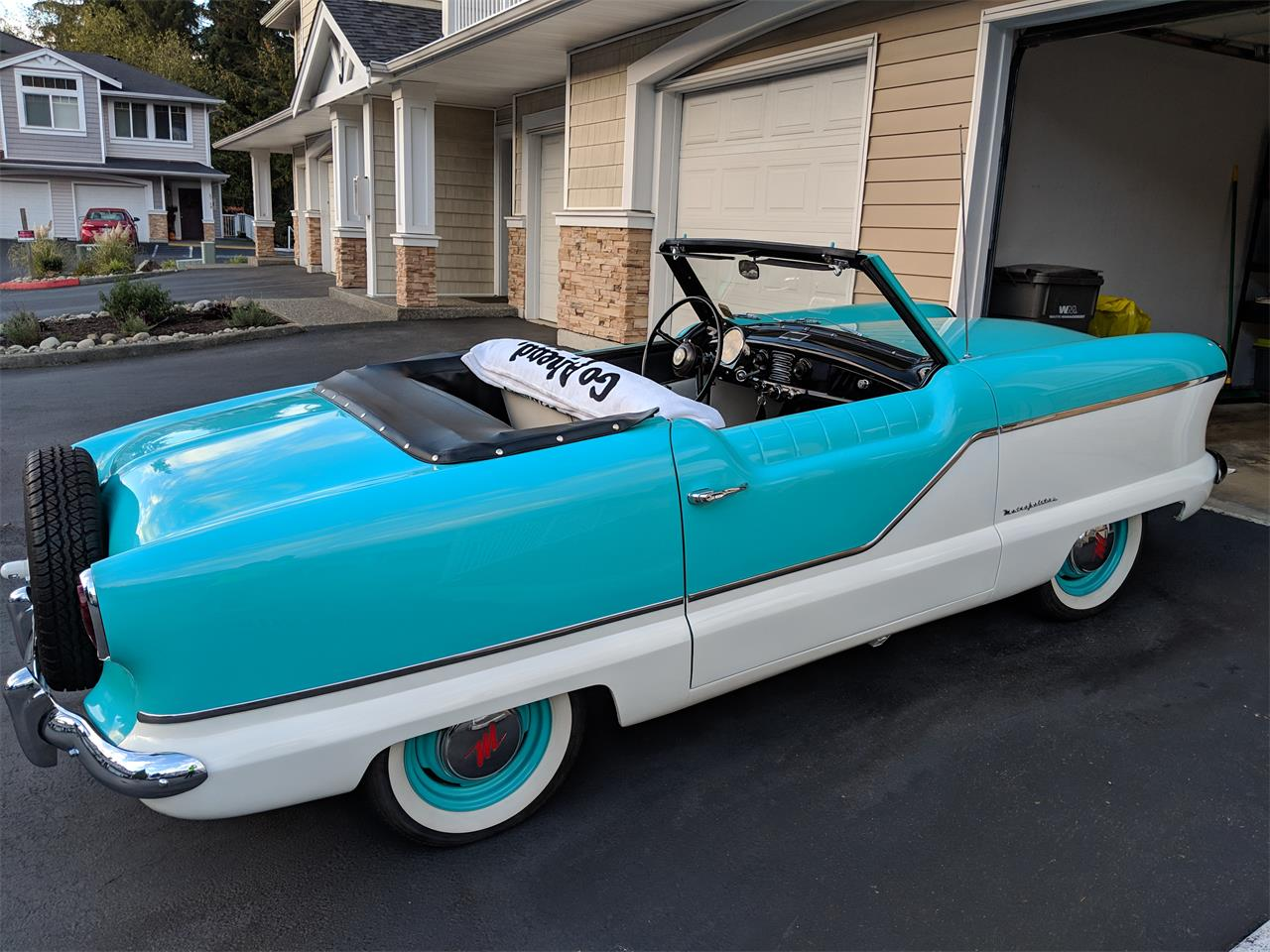Large Picture of 1959 Nash Metropolitan located in Washington Offered by a Private Seller - OXMD