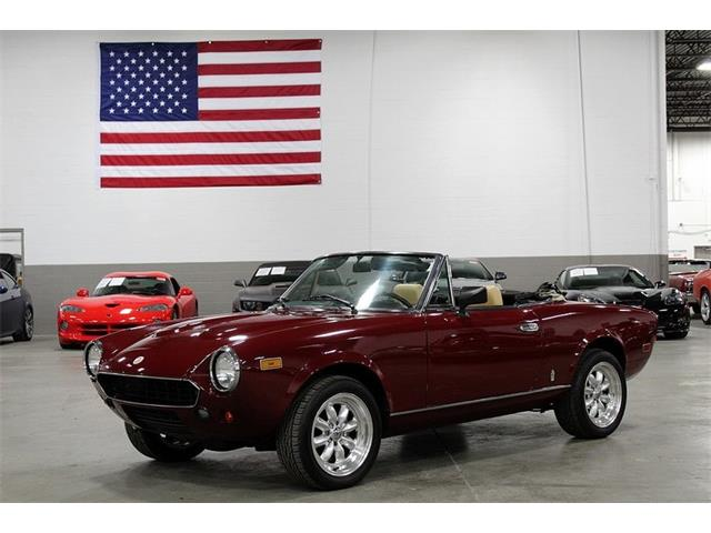 Classic Fiat Spider For Sale On Classiccars Com