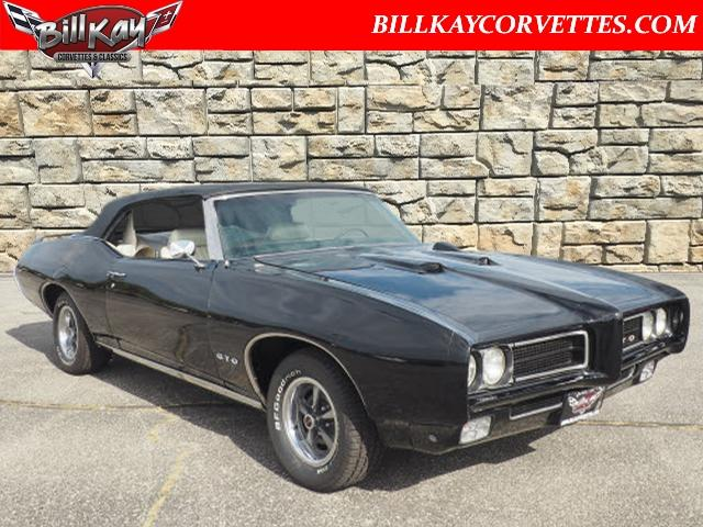 1969 Pontiac Gto For Sale On Classiccars Com