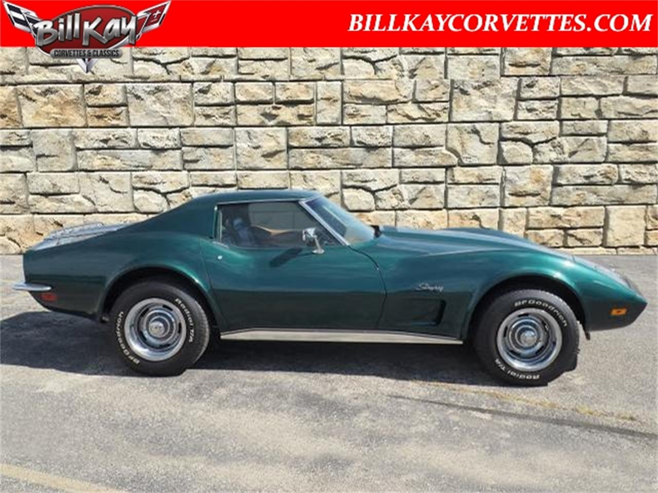 Large Picture of Classic 1973 Corvette located in Illinois - $24,392.00 Offered by Bill Kay Corvettes and Classics - OXQM