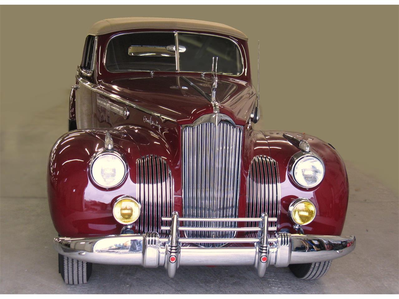 Large Picture of Classic 1941 Packard 160 located in Bedford Ohio Offered by Vintage Motor Cars USA - OXSH