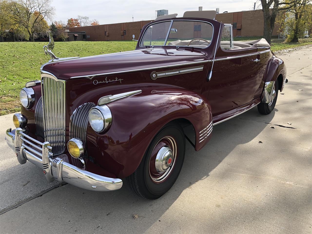 Large Picture of Classic 1941 Packard 160 located in Bedford Ohio - $159,900.00 Offered by Vintage Motor Cars USA - OXSH