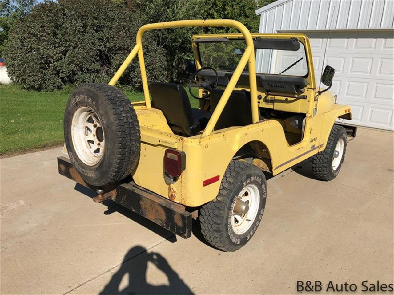 Large Picture of 1976 Jeep CJ5 Offered by B & B Auto Sales - OY88