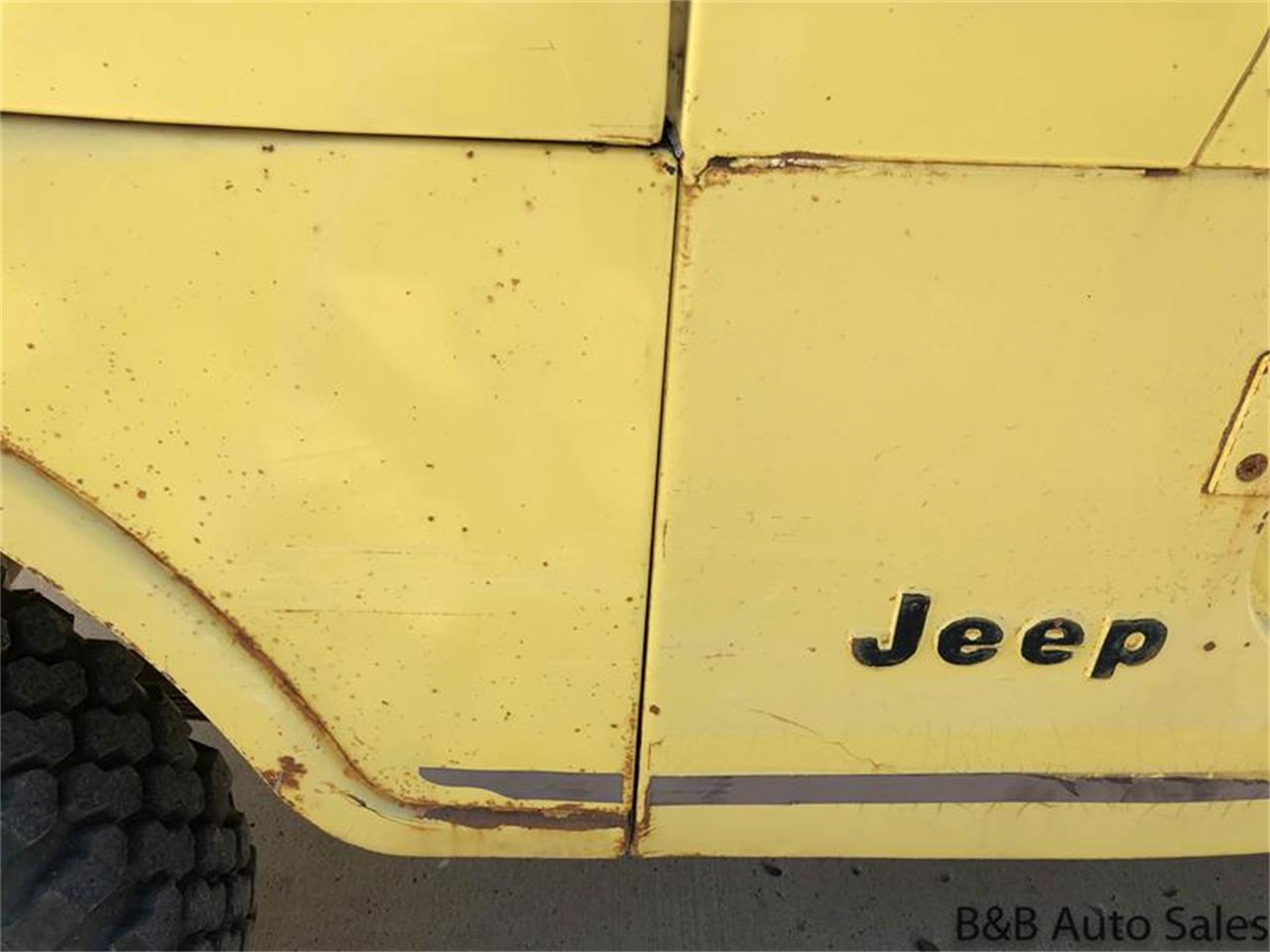 Large Picture of '76 CJ5 Offered by B & B Auto Sales - OY88