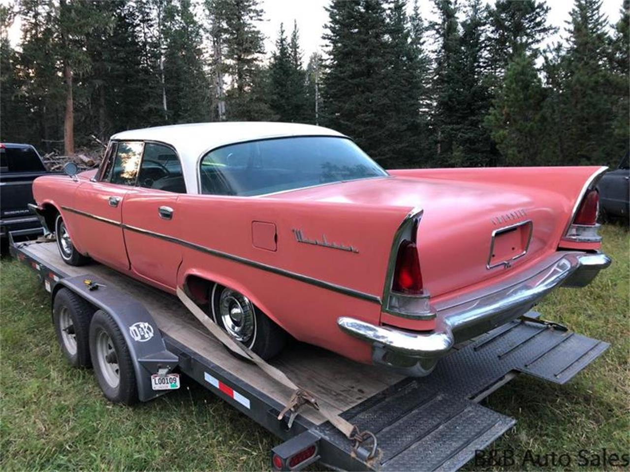 Chrysler For Sale >> 1958 Chrysler Windsor For Sale Classiccars Com Cc 1164117