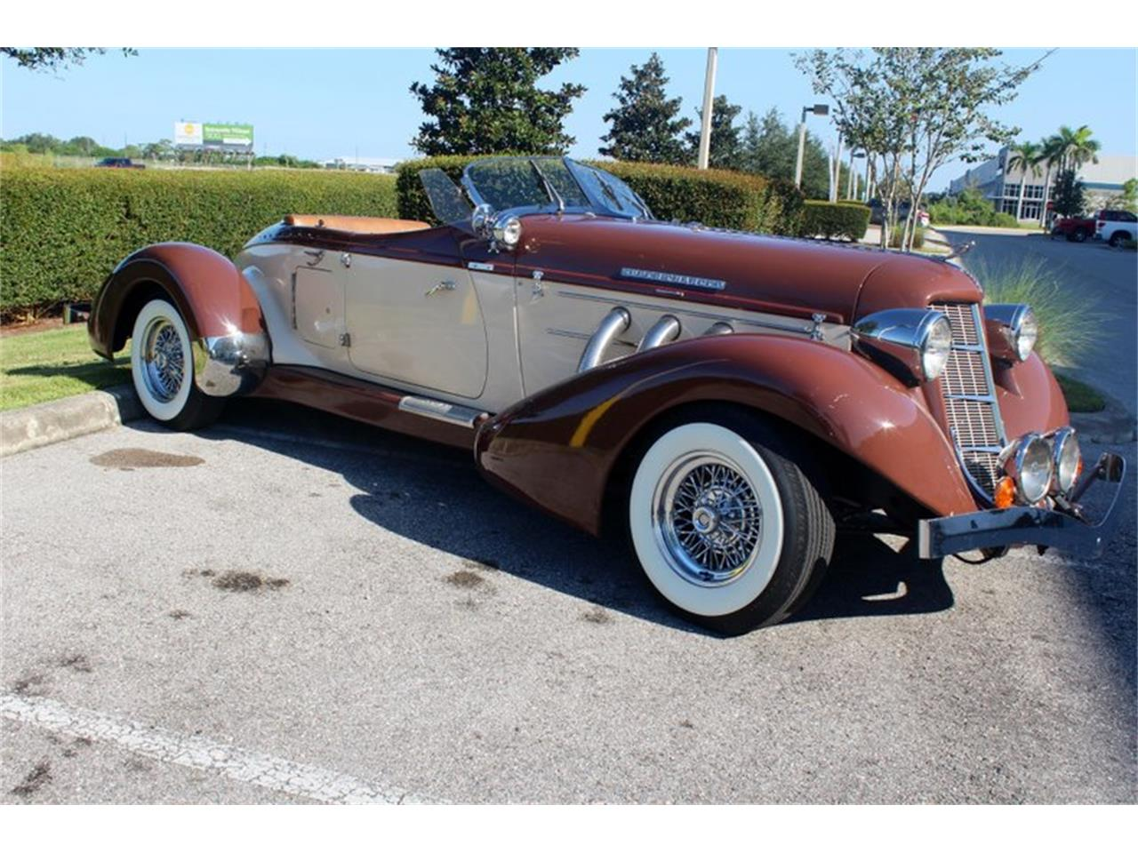 Large Picture of 1936 Auburn Speedster located in Sarasota Florida Offered by Classic Cars of Sarasota - OYCB