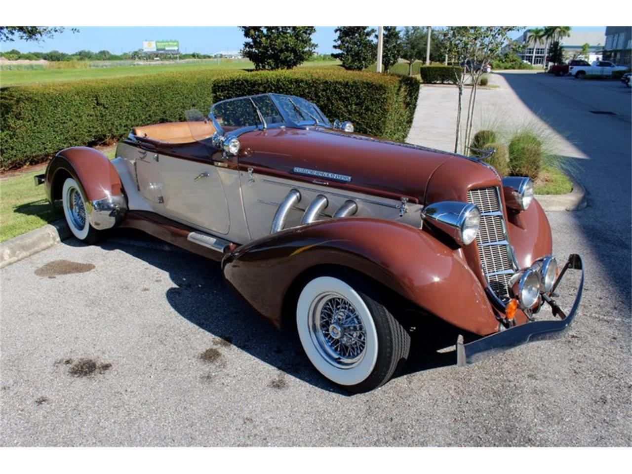 Large Picture of Classic '36 Auburn Speedster - $49,900.00 Offered by Classic Cars of Sarasota - OYCB