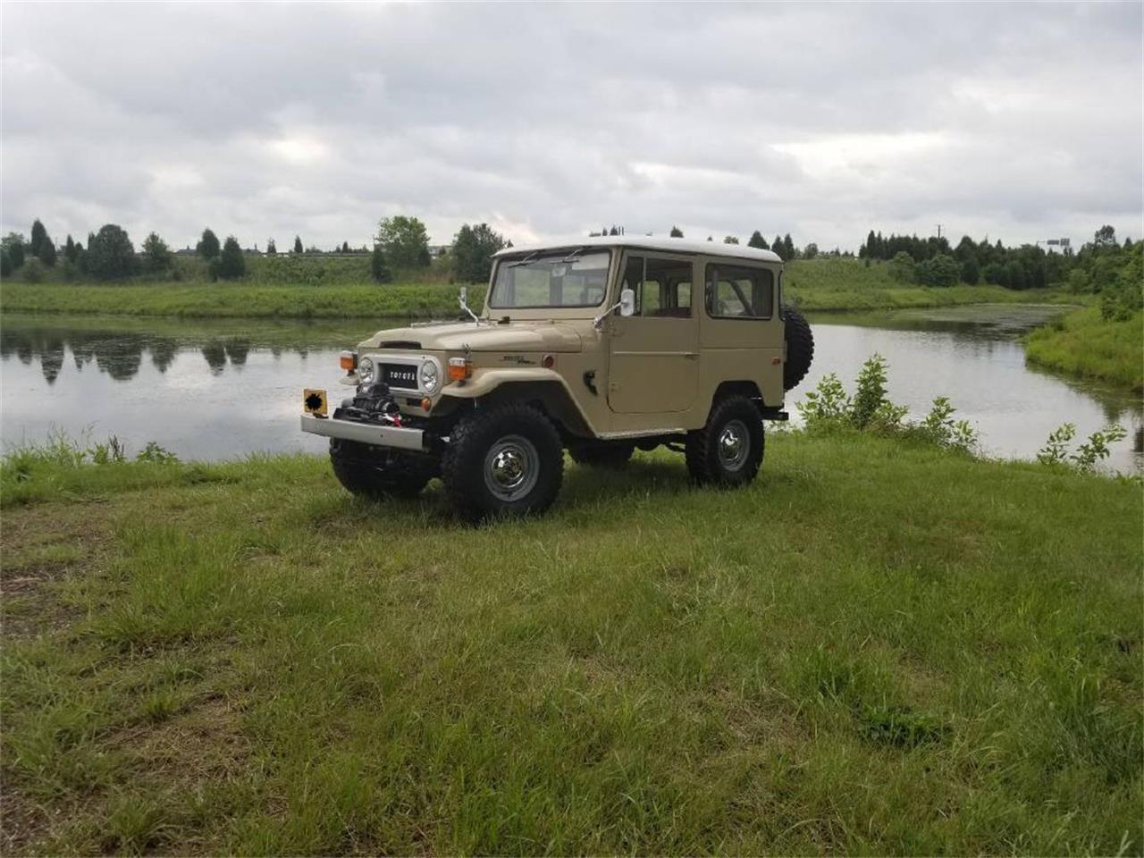 Large Picture of 1970 Land Cruiser FJ40 located in Pennsylvania - OZ1Y