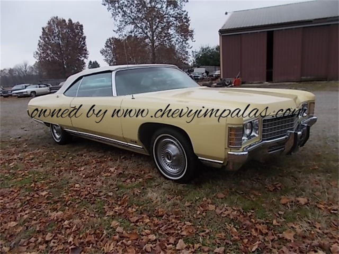 For Sale 1971 Chevrolet Impala In Creston Ohio