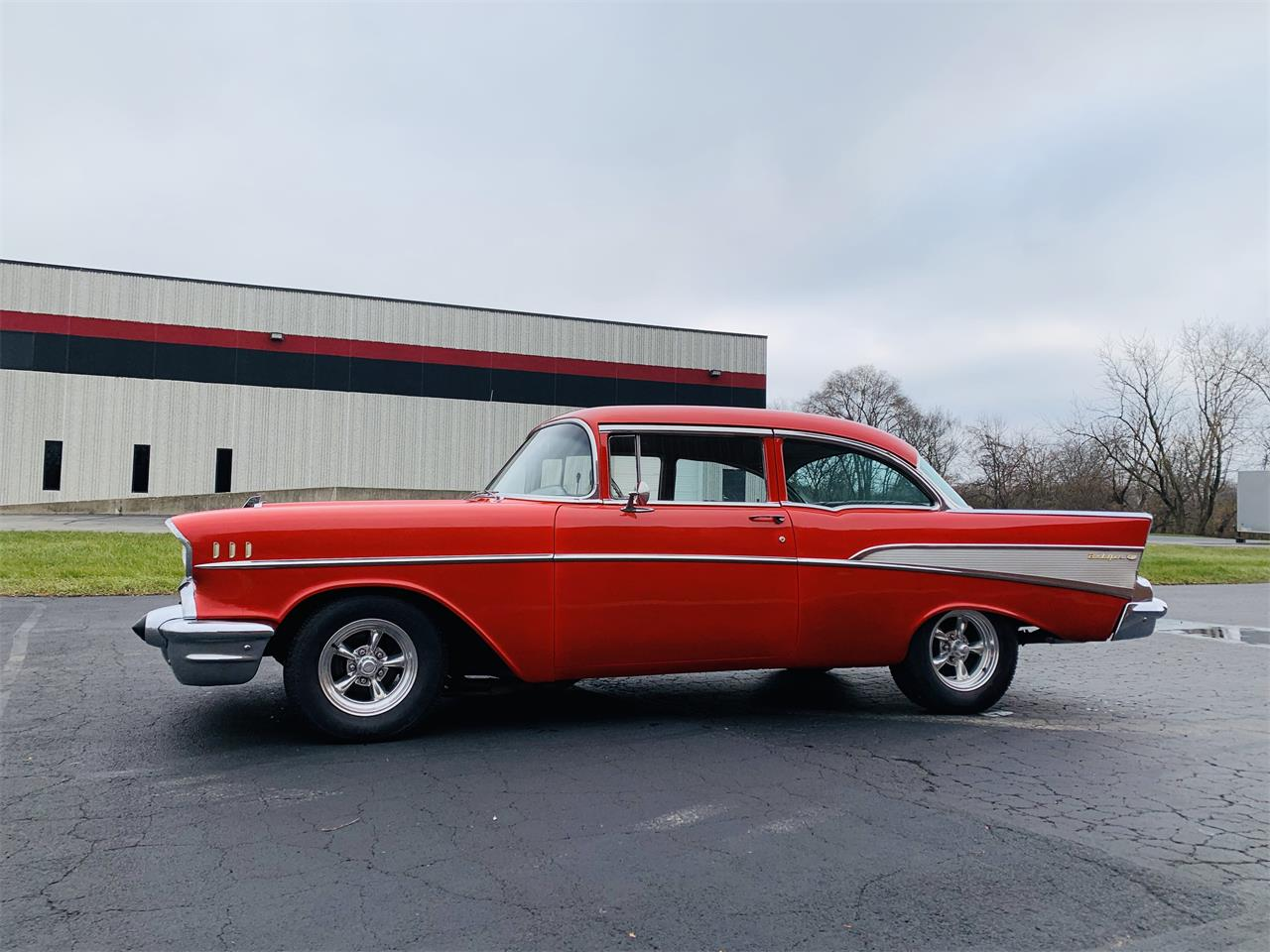 Large Picture of Classic 1957 Bel Air located in Geneva  Illinois - $29,995.00 Offered by Classic Auto Haus - OZSO
