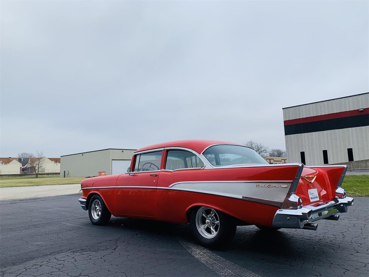 Large Picture of Classic '57 Bel Air located in Geneva  Illinois - $29,995.00 Offered by Classic Auto Haus - OZSO