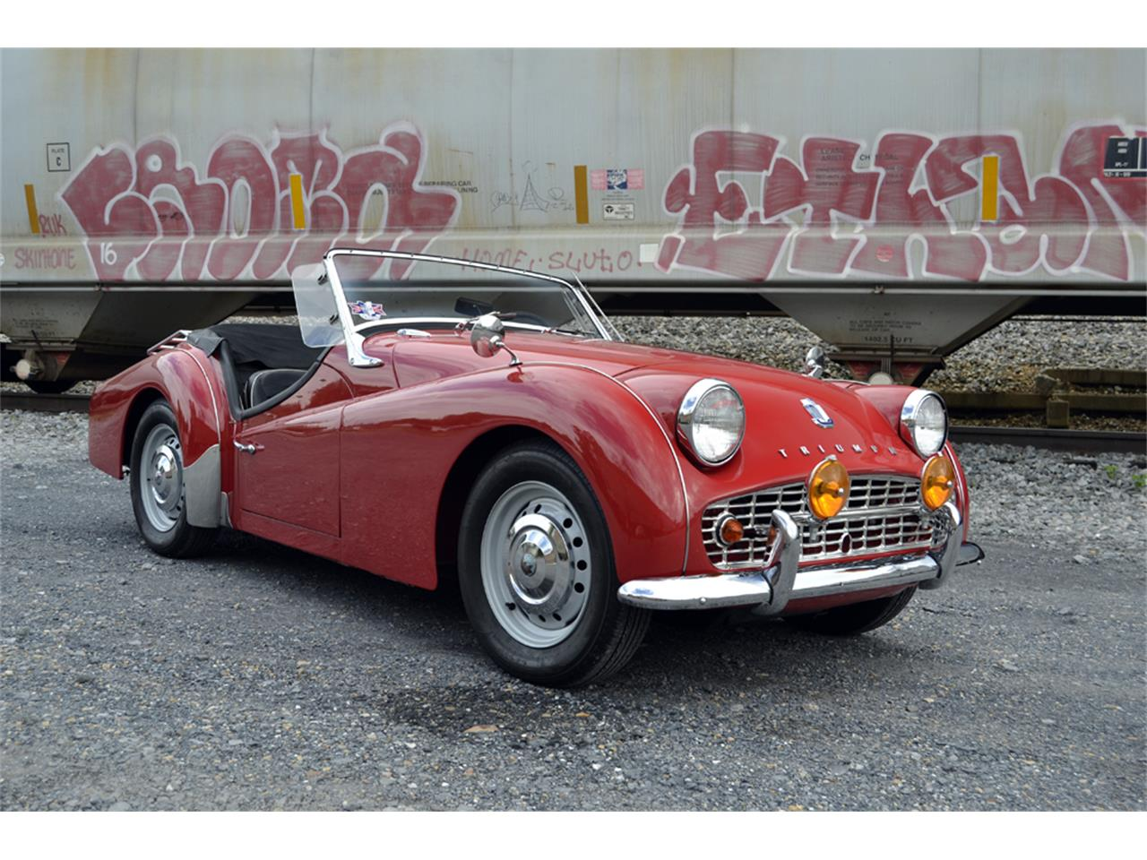 Large Picture of Classic 1961 TR3A - $33,500.00 Offered by Gassman Automotive - OZYS