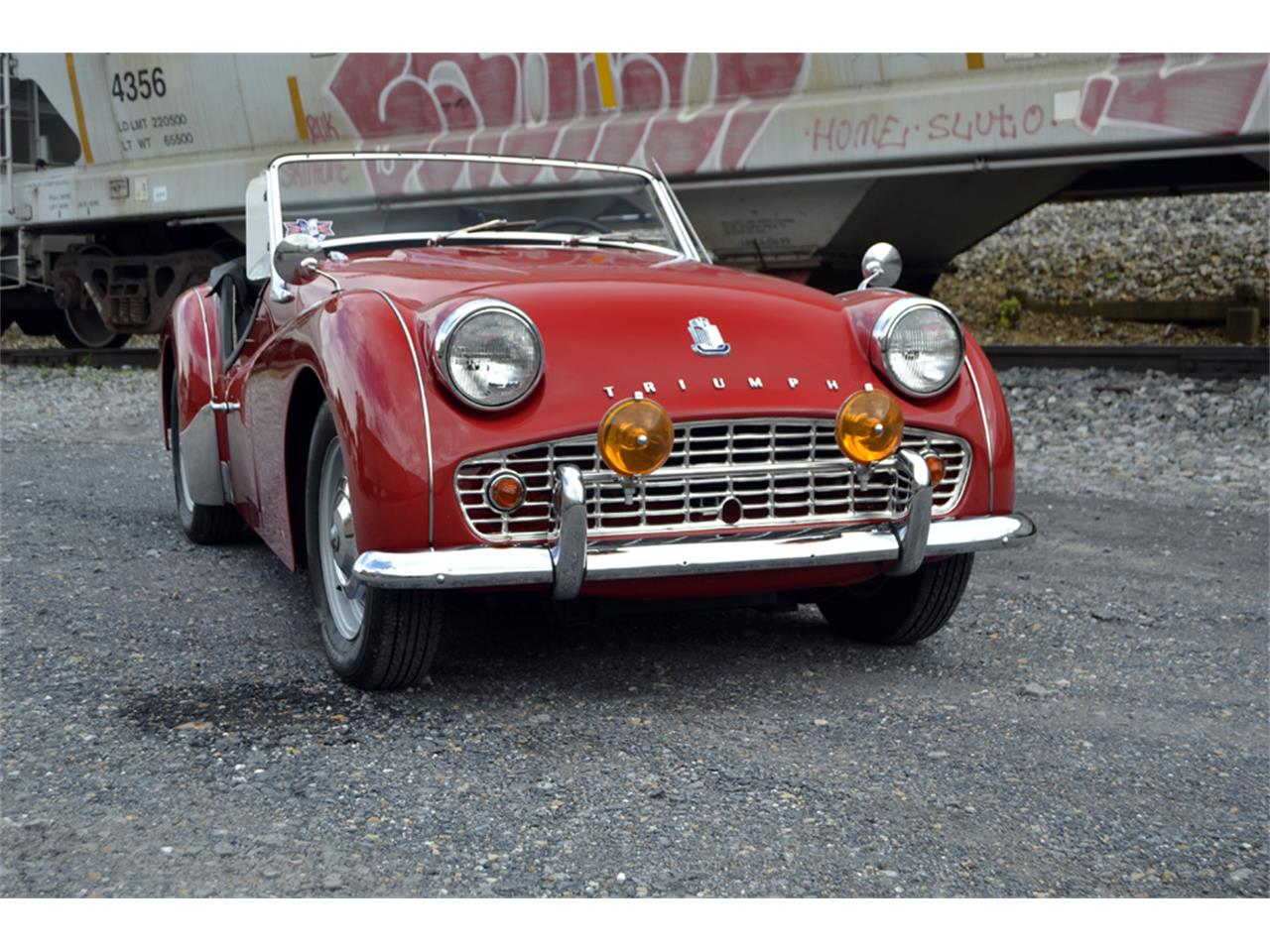 Large Picture of '61 TR3A - OZYS