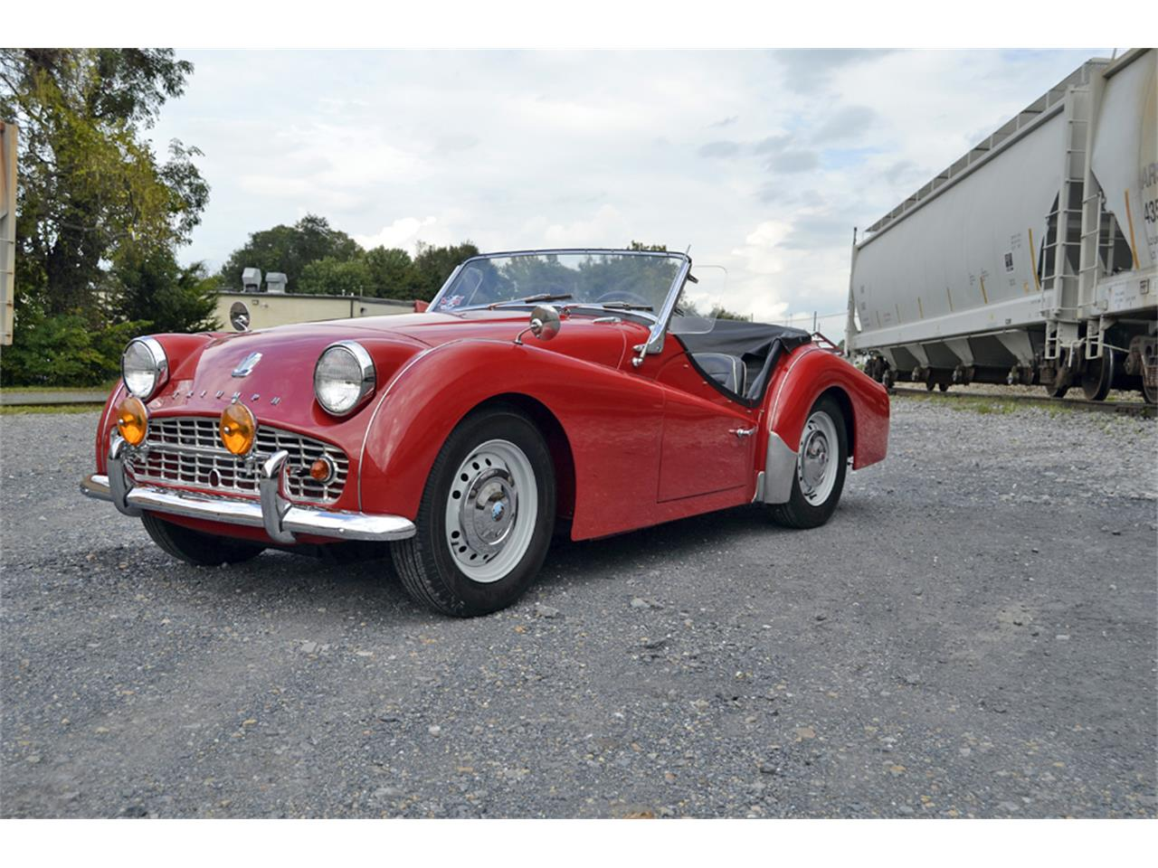Large Picture of 1961 Triumph TR3A located in Waynesboro Virginia - $33,500.00 - OZYS