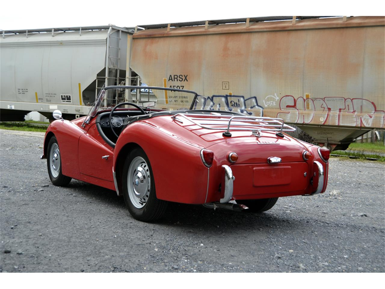 Large Picture of Classic 1961 TR3A located in Waynesboro Virginia Offered by Gassman Automotive - OZYS