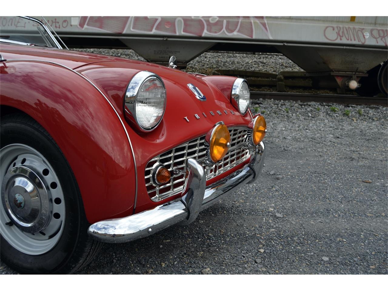 Large Picture of Classic 1961 Triumph TR3A - OZYS