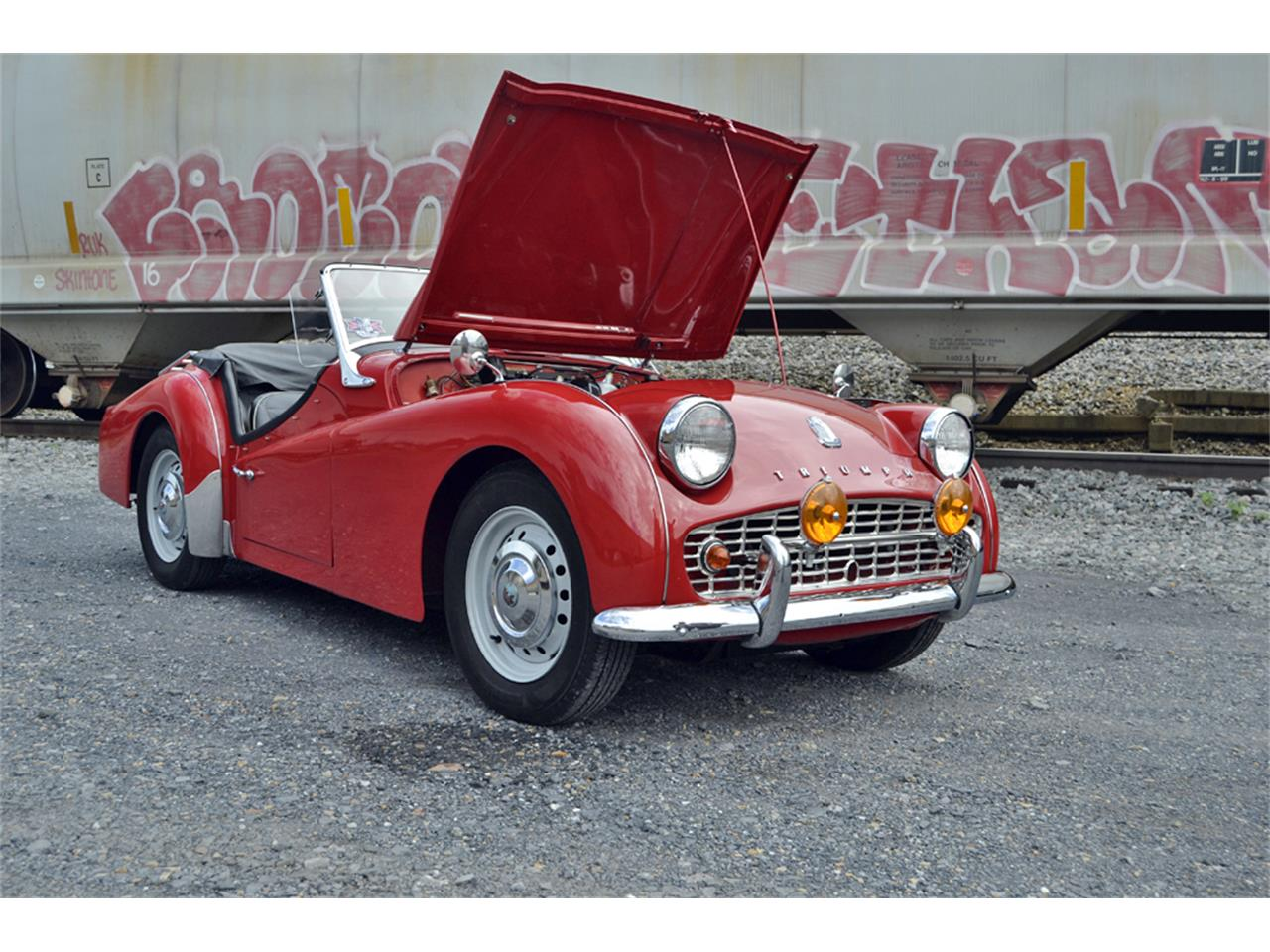 Large Picture of 1961 TR3A - OZYS