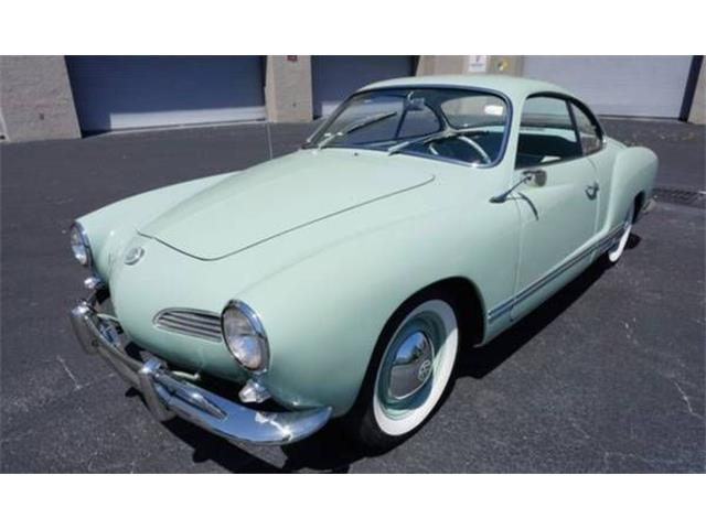 Picture of Classic '58 Karmann Ghia located in Cadillac Michigan - $40,995.00 - P01J