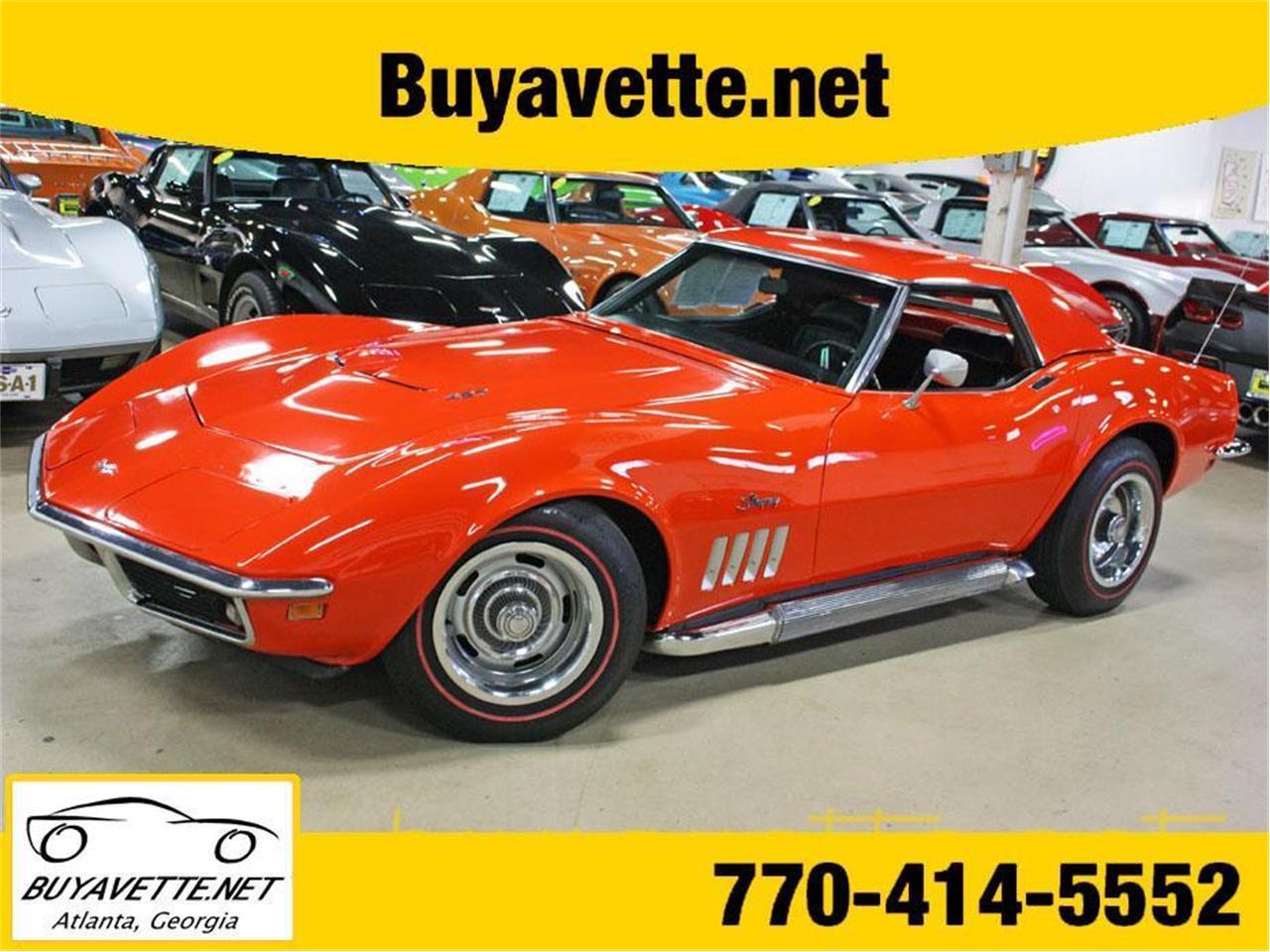For Sale: 1969 Chevrolet Corvette in Atlanta, Georgia