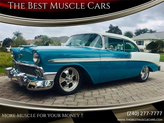 1956 Chevrolet Bel Air For Sale On Classiccars Com