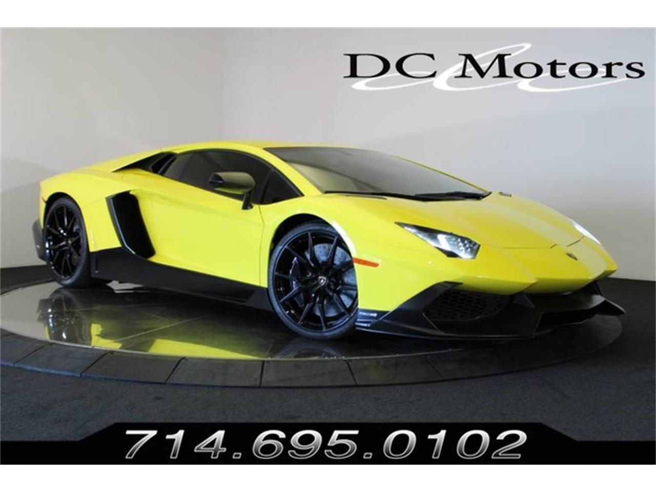 2014 Lamborghini Aventador For Sale Classiccars Com Cc 1167553