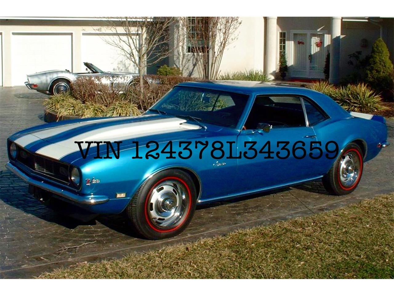 Large Picture of '68 Camaro Z28 - P0XH