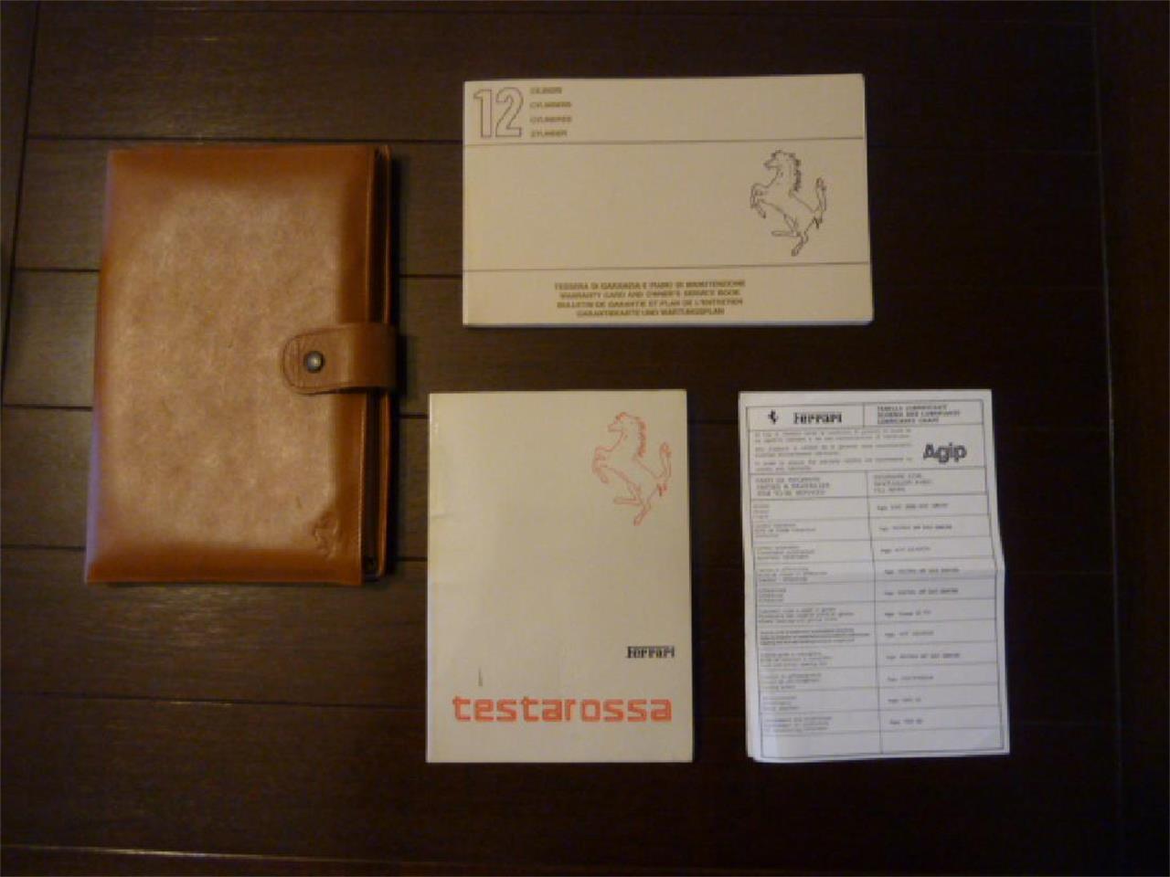 Large Picture of '86 Testarossa - P13X