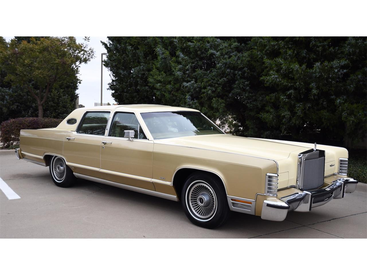 Large Picture of 1979 Lincoln Continental Offered by Duncan's Auctions - P157