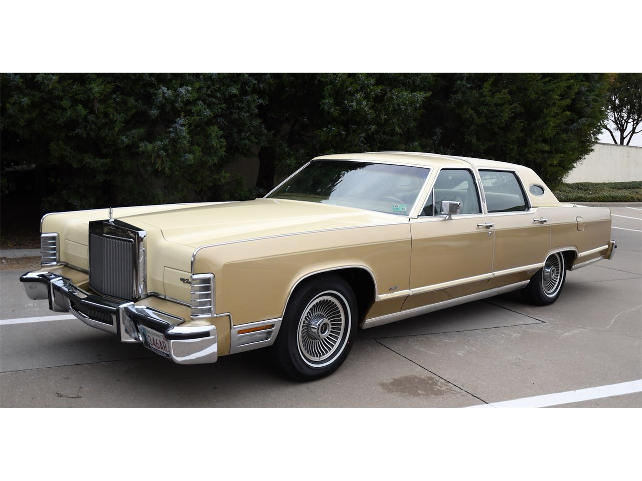 Large Picture of 1979 Lincoln Continental located in Allen Texas Auction Vehicle Offered by Duncan's Auctions - P157