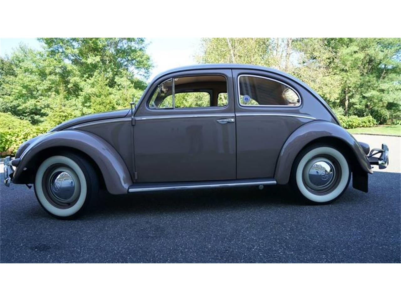 Large Picture of Classic 1955 Volkswagen Beetle located in New York Offered by Fiore Motor Classics - OVOE