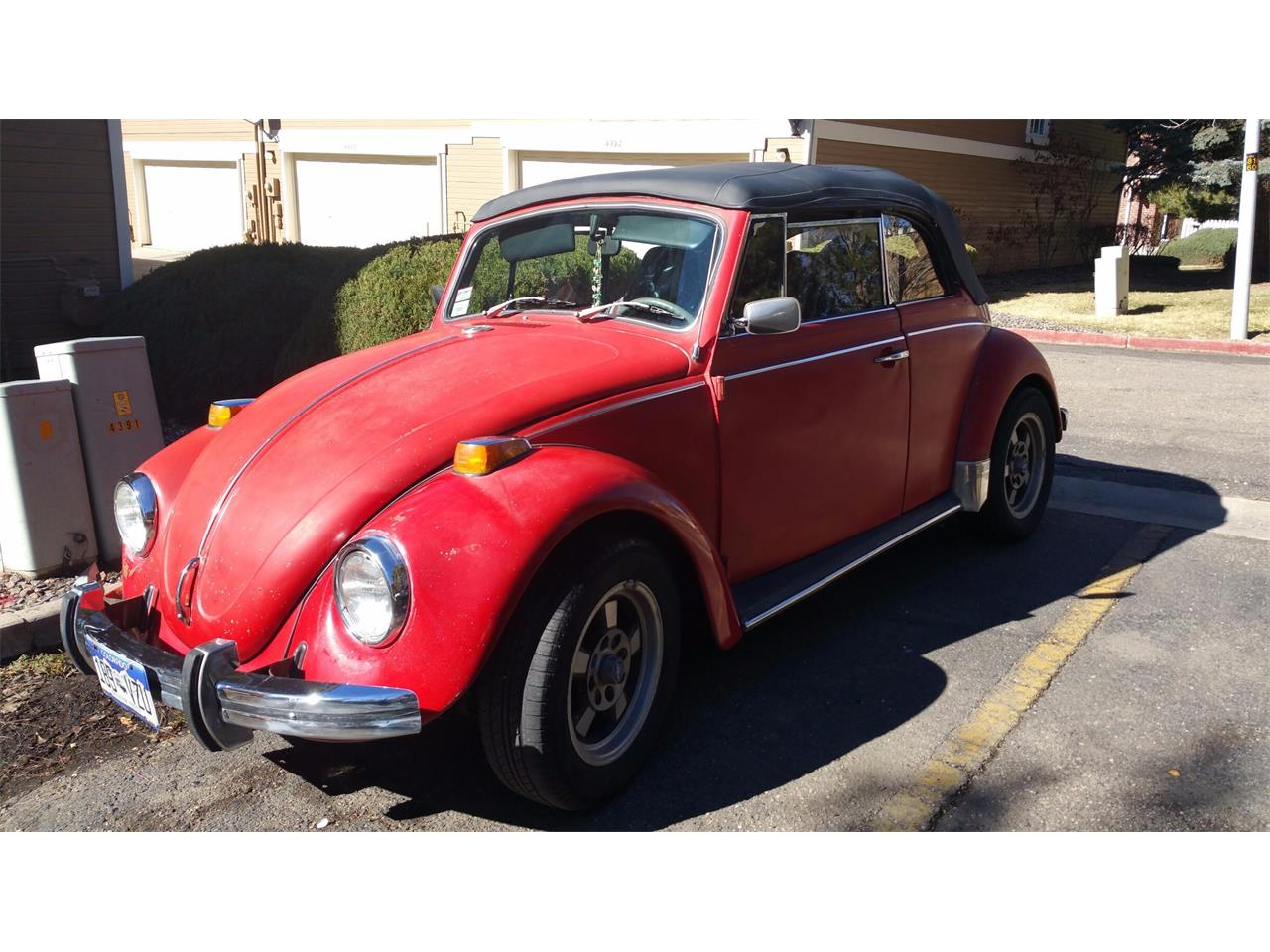 Large Picture of Classic 1970 Volkswagen Cabriolet located in Colorado - P1AC