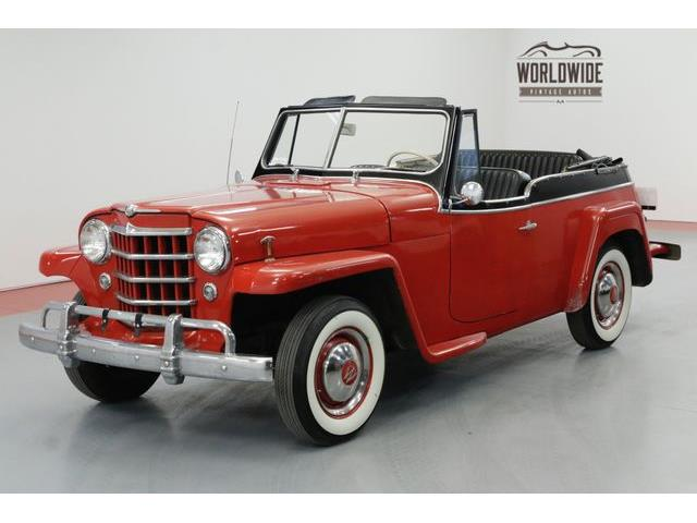 Picture of 1950 Willys Jeepster located in Colorado - $15,900.00 Offered by  - P1AF