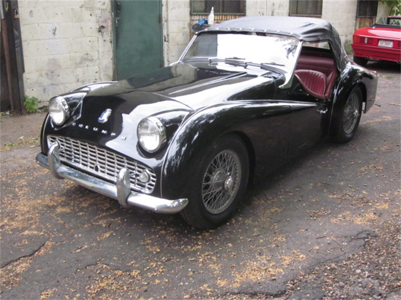 Large Picture of 1960 Triumph TR3A located in Connecticut Offered by The New England Classic Car Co. - OVOV