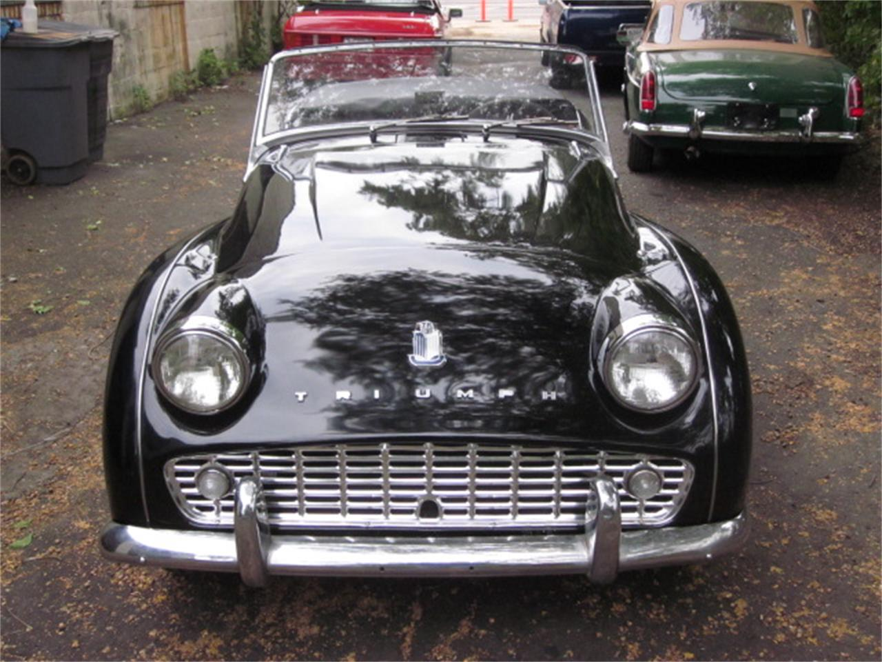 Large Picture of '60 Triumph TR3A located in Stratford Connecticut Offered by The New England Classic Car Co. - OVOV