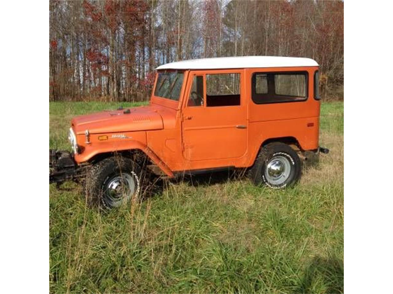Large Picture of '71 Land Cruiser FJ40 - OVP1