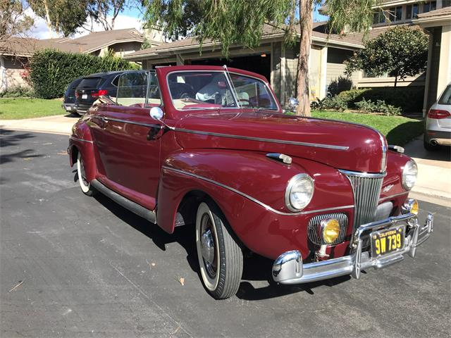 Picture of '41 Ford Super Deluxe located in Irvine California - $36,000.00 Offered by a Private Seller - P1EP