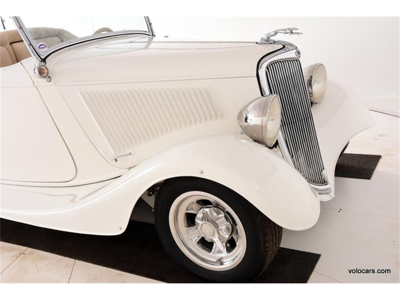 Large Picture of 1934 Custom located in Volo Illinois - $41,998.00 Offered by Volo Auto Museum - P1F4