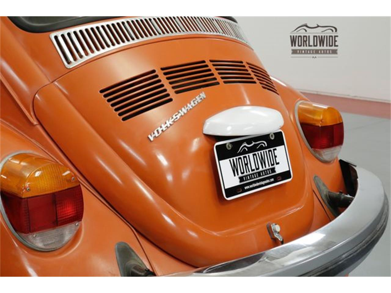 Large Picture of 1974 Volkswagen Beetle located in Denver  Colorado - $6,900.00 Offered by Worldwide Vintage Autos - P1F5