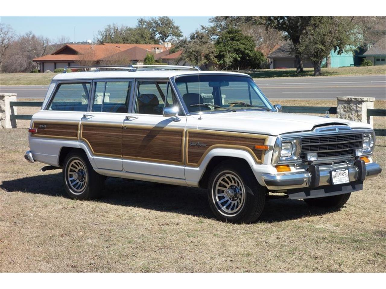 Large Picture Of 1987 Jeep Grand Wagoneer Located In Texas