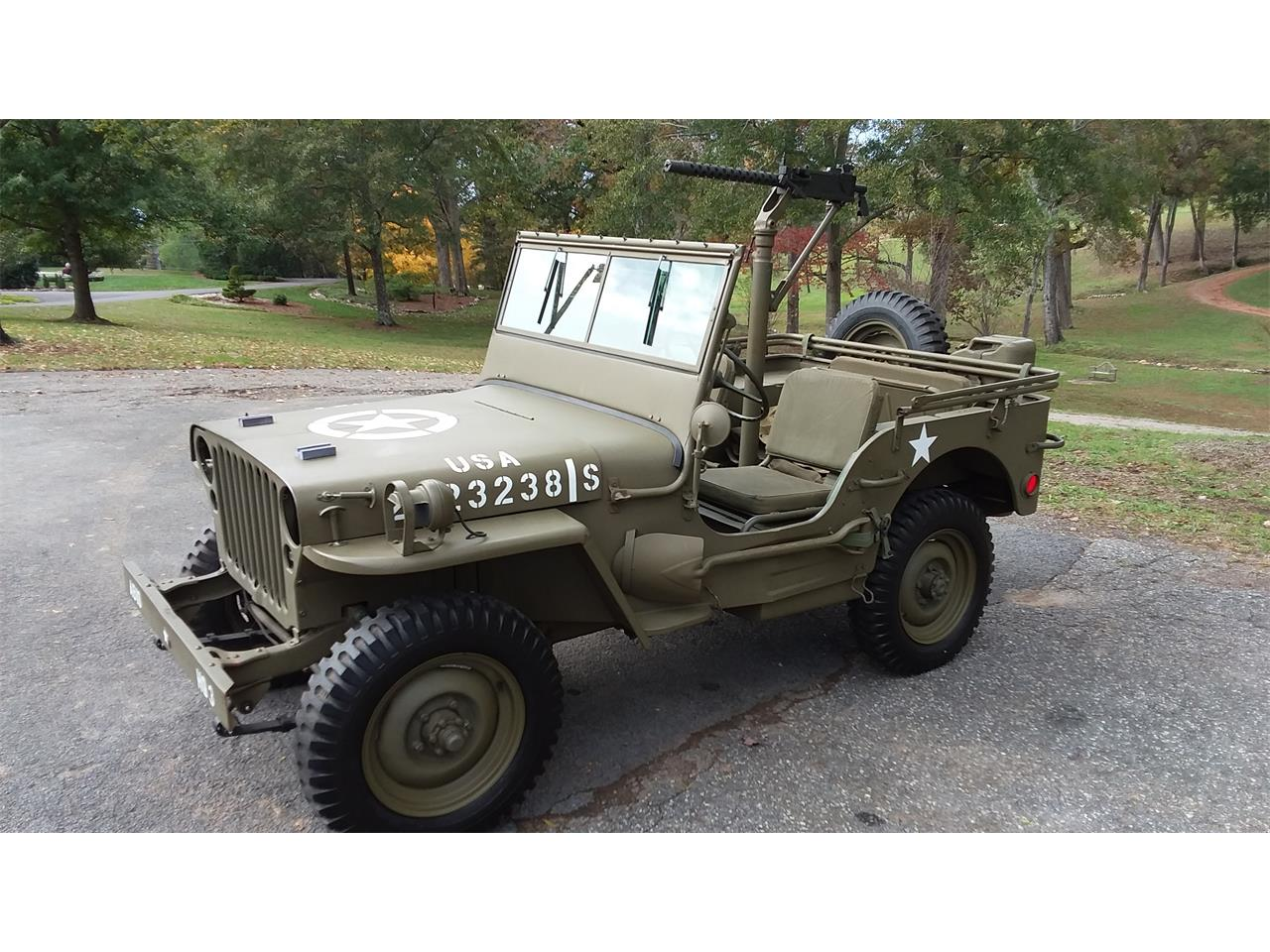 Large Picture of '42 Military Jeep - P1GR