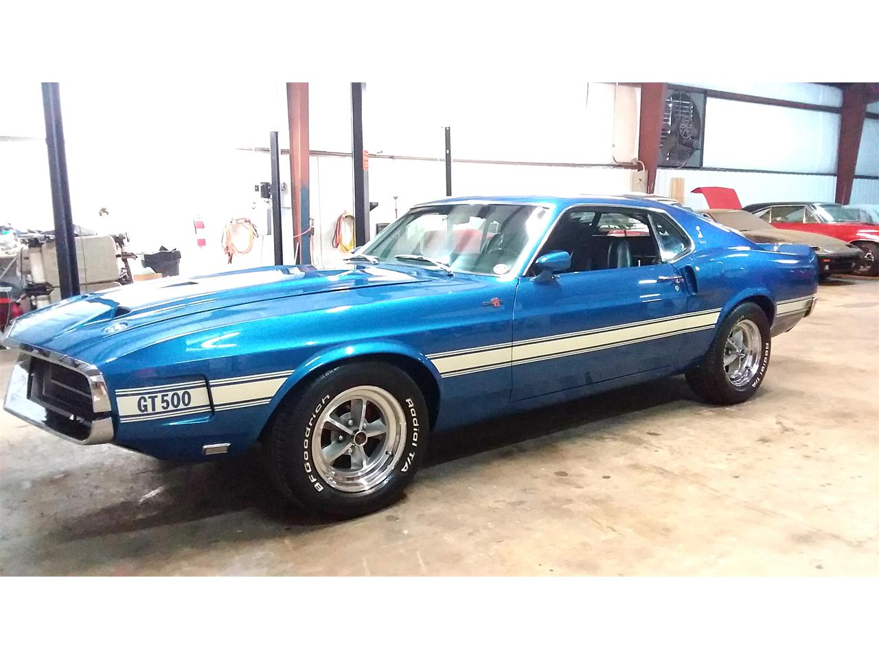 Large Picture of 1969 Mustang GT500 Fastback located in North Carolina Auction Vehicle - P1GX
