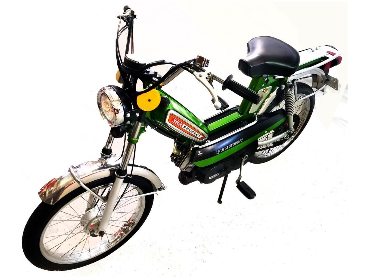 Large Picture of '08 Model 103 Moped - P1HG
