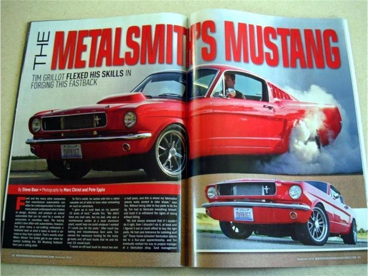 Large Picture of '65 Mustang - P1J7