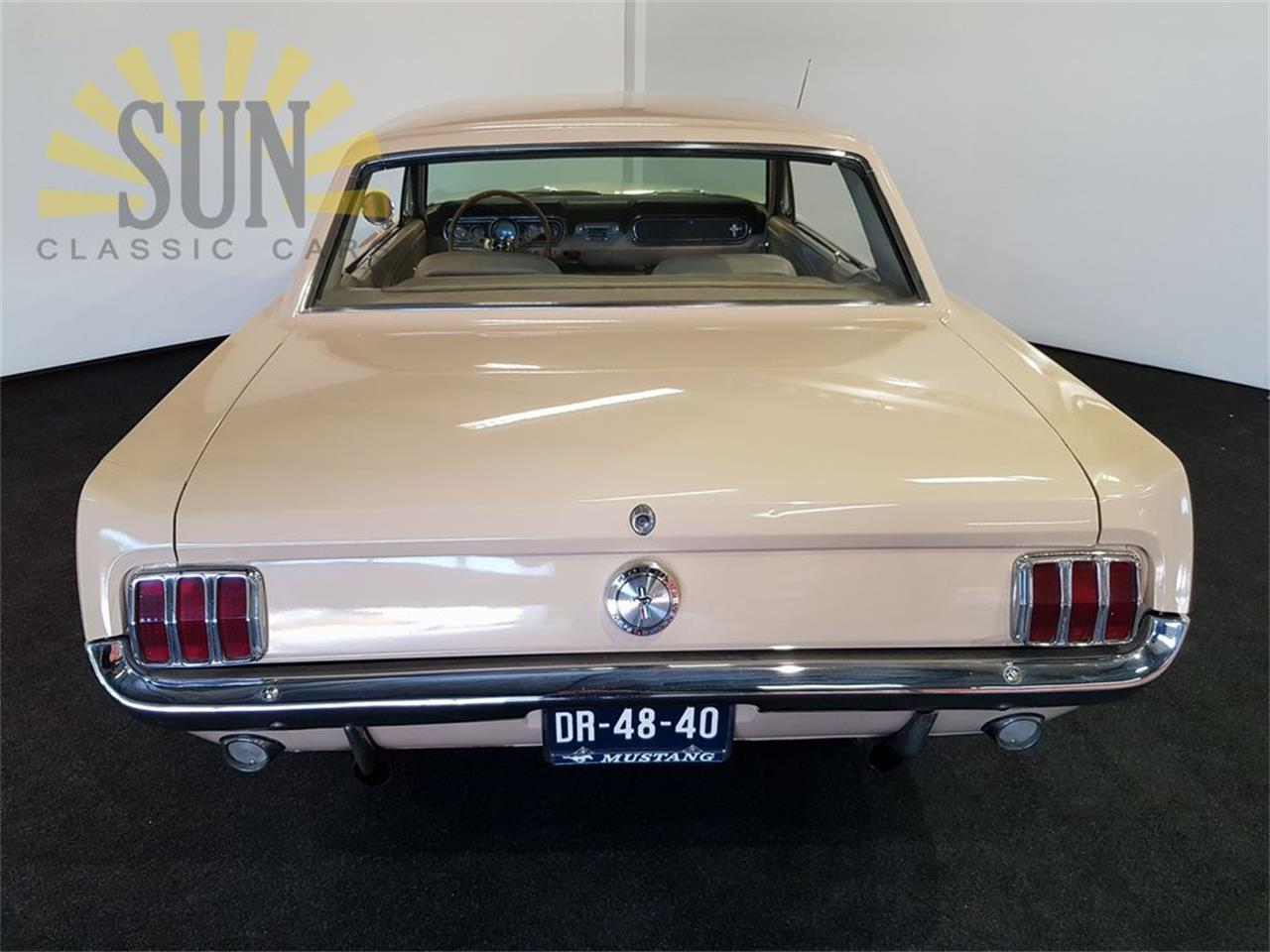 Large Picture of '66 Mustang - P1OA