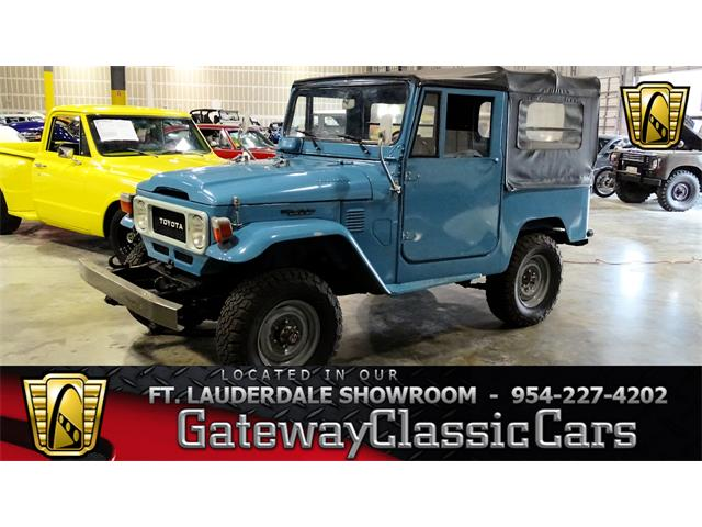 Picture of '81 Land Cruiser FJ40 - $20,995.00 Offered by  - P1QE